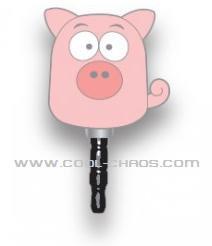 Piggy Pig Phone Accessory - Dust-off Plug/Charm