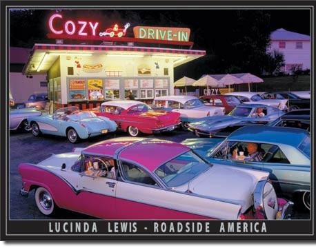 Cozy Drive-in Sign