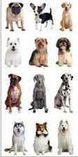 Dog Puppy Mini Stickers