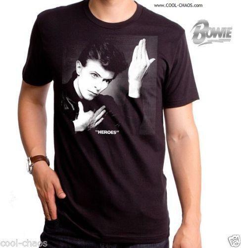 Heroes David Bowie T-Shirt / Men's Retro Rock Tee