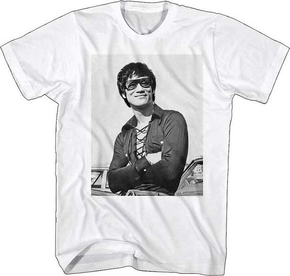 BRUCE LEE T-Shirt / COOL AS BRUCE LEE IN SUNGLASSES TEE