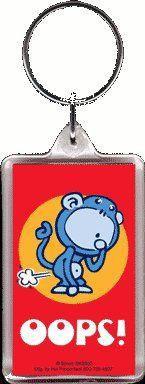 Monkey Fart Keychain