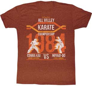 The Karate Kid T-Shirt / All Valley Championship Cobra Kai vs. Miyagi-Do Tee