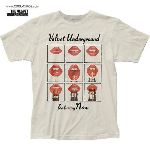 Andy Warhol's The Velvet Underground & Nico T-Shirt / Lips