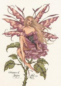 Amy Brown Fairy Art Postcard #7 Whispers of Spring