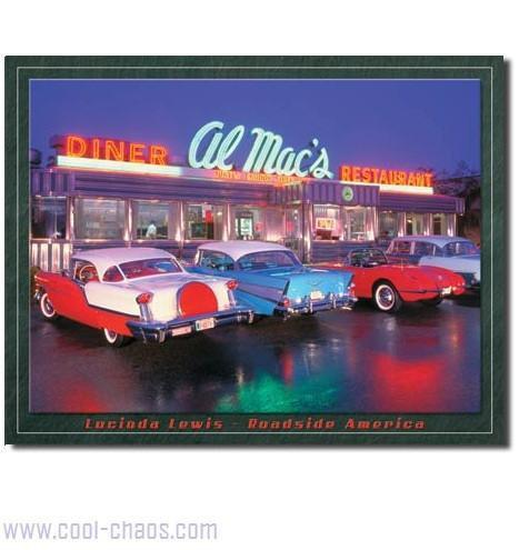 Mac's Diner Sign