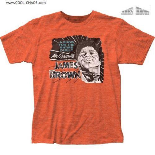 James Brown T-shirt / Mr. Dynamite James Brown Tee