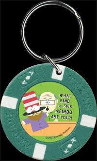 South Park Sick Weirdo Keychain