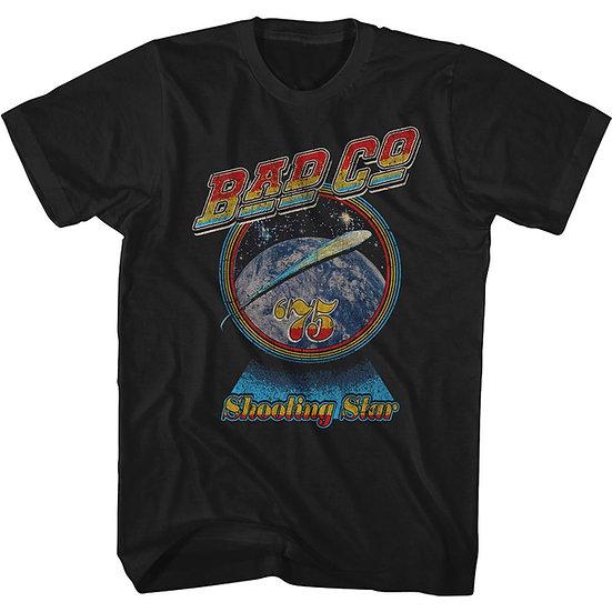 BAD COMPANY T-Shirt / BAD CO. 1973 SHOOTING STAR '75 THROWBACK ROCK TEE