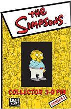 The Simpsons Collectible Button - 3D Ralph Wiggums