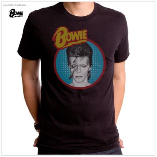 David Bowie Starman T-Shirt / Retro Rock New Tribute Men's Tee