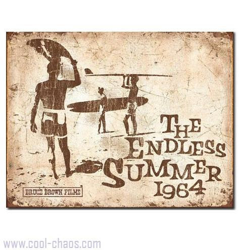 Retro-Style The Endless Summer Sign