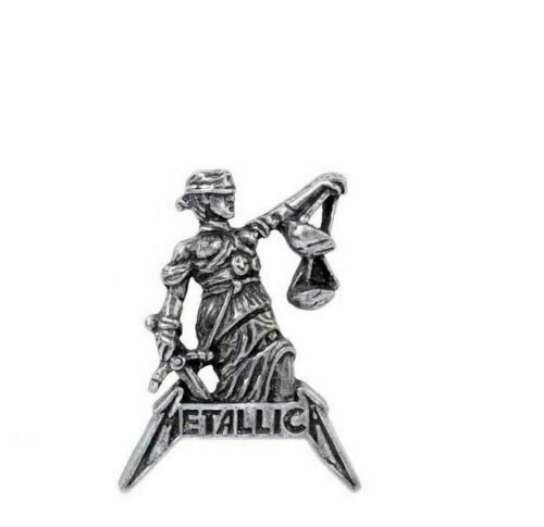 Metallica Collector Pin / Pewter Hat pin,Metallica and justice for All Pin