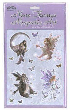 Fantasy Dark Fairy Magnets Set