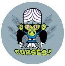 Curses! Monkey Powerpuff Girls Button