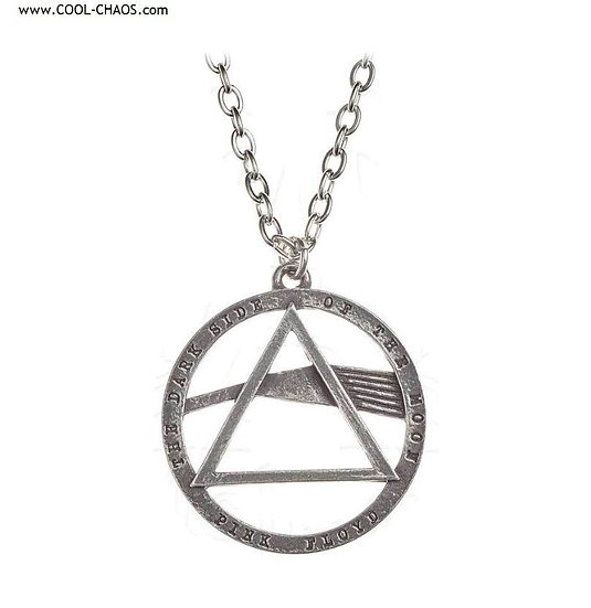 Pink Floyd Dark side of the moon Necklace