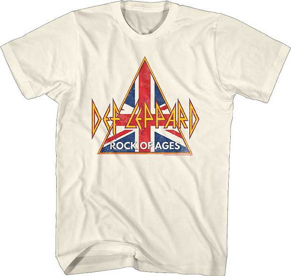 Def Leppard T-Shirt / 80s rock 'Rock of Ages' Def Leppard Tee