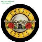 Guns n Roses Button