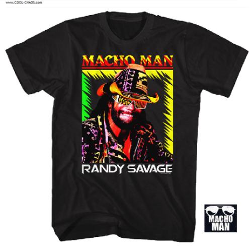 Macho Man Randy Savage T-Shirt / Macho Man Time of my Life Pro-Wrestling Tee