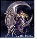 Fantasy Moon Dreamer Angel Magnet