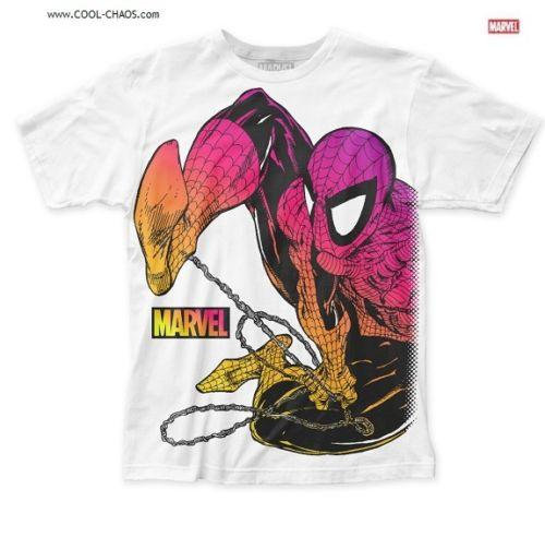 Spider-Man T-Shirt / spidey Subway Art Comic Book Tee