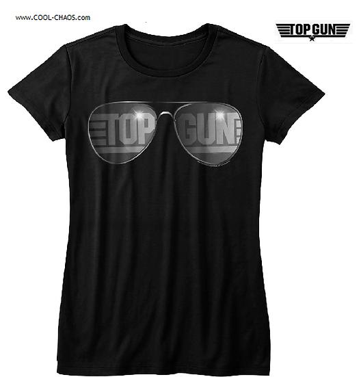 Top Gun T-Shirt / Top Gun Aviators Movie Tee Juniors Tee