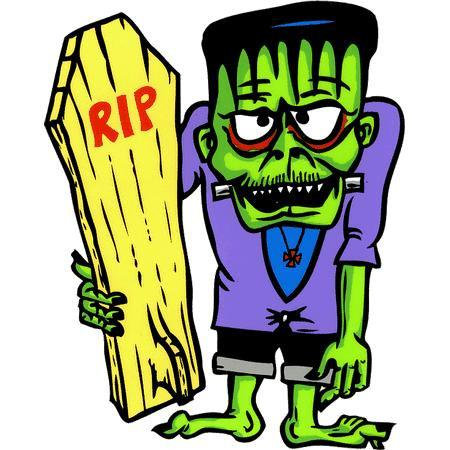Monster Rod Frankenstein Sticker