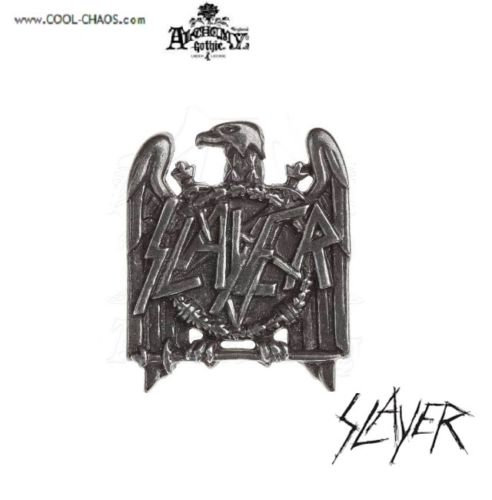 Eagle SLAYER Hat Pin / Official Slayer Metalwear Pin,Pewter Collector's Pin