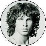 Jim Morrison Button