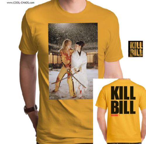 KILL BILL T-Shirt / The Bride,Kill Bill Vol. 1 w backprint