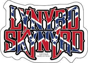 Rebel Flag Lynyrd Skynyrd Sticker