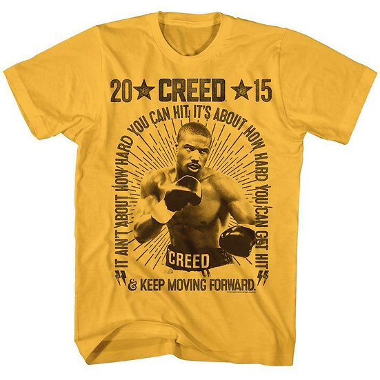 CREED T-SHIRT / Creed Boxing Poster Marquee Tee / Rocky Creed Movie