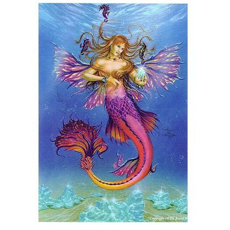 Mermaid Fairy Greeting Card