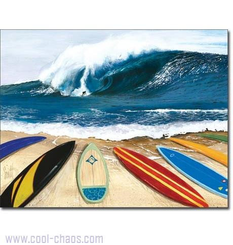Wait Your Turn Surf Beach Sign