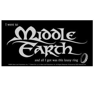 Lord of the Rings Sticker