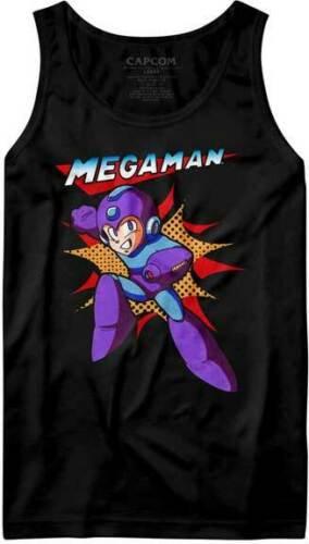 Mega Man TANK TOP / Megaman Video Game MEN'S TANK TOP TEE