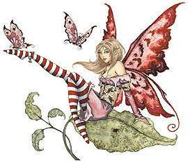 Flirty Fairy Sticker