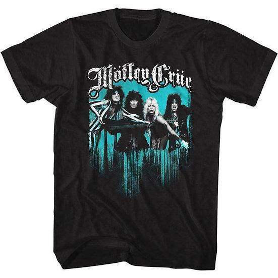 Motley Crue T-Shirt / Motley Crue Girl Don't go away mad Rock Tee