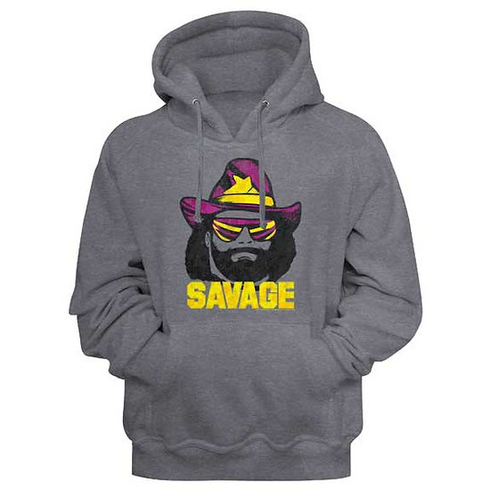 MACHO MAN Hoodie / RANDY SAVAGE MACHO MAN Hooded Sweatshirt