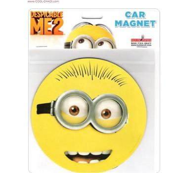 Goggles Minion Car Magnet