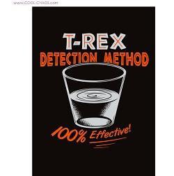 Jurassic Park Spoof T-Rex Magnet