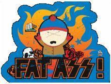 South Park Sticker #4 Fat A$$ Cartman