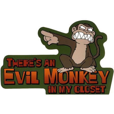 Family Guy Evil Monkey Sticker