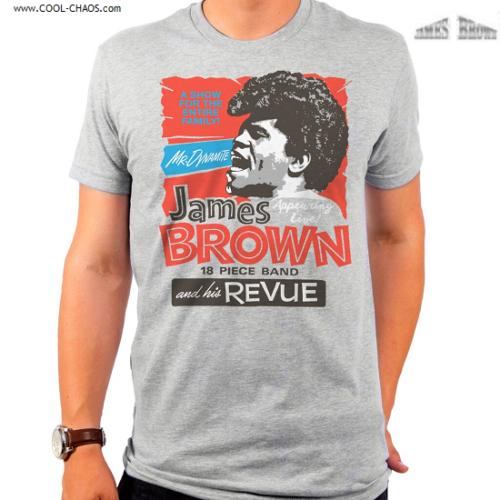 James Brown T-Shirt / James Brown MR. DYNAMITE Tee
