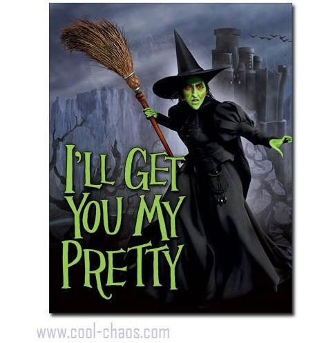 I'll Get You My Pretty Wicked Witch of the West Sign