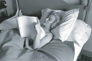 Rare Marilyn in Bed Marilyn Monroe Sticker