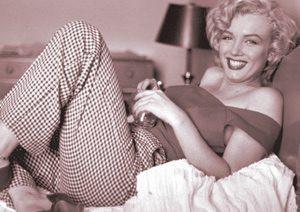 Marilyn Monroe Postcard