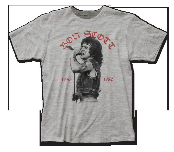 BON SCOTT T-SHIRT / BON SCOTT 1946-1980 Tribute Tee