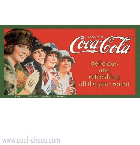 Four Seasons Victorian Coca-Cola Sign