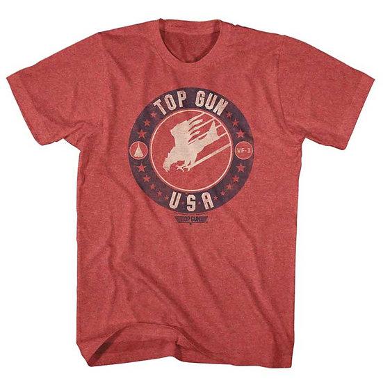 TOP GUN T-Shirt / 80's Throwback Eagle 'Top Gun' Movie Tee